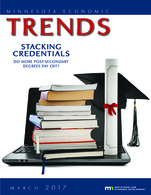 Cover of March 2017 issue of Trends magazine