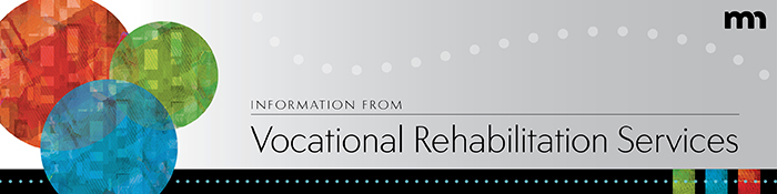 Vocational Rehabilitation Services header