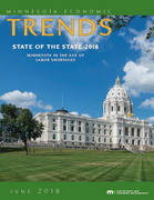 Trends cover showing Minnesota State Capitol building