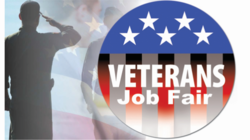 Veterans job fair logo