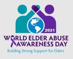 World Elder Abuse Awareness Day WEAAD logo