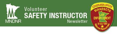 Volunteer Safety instructor Banner