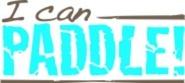 I Can Paddle logo