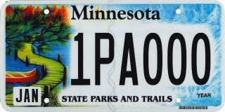 state parks license plate