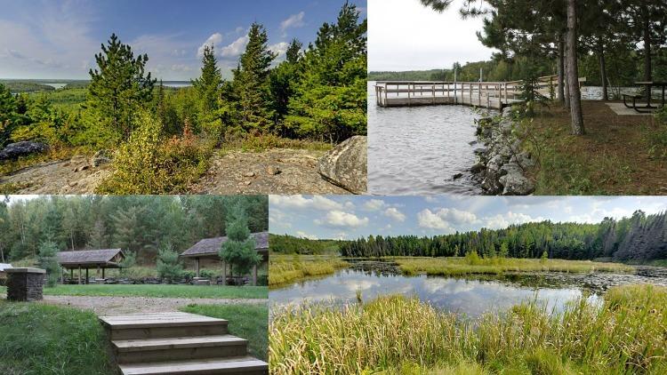 Lake Vermilion collage