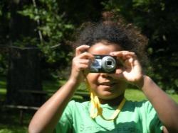 kids doing photography