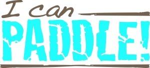 I Can Paddle! logo