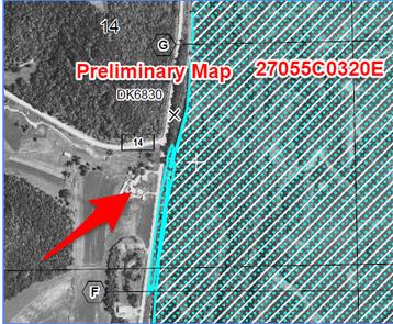 Houston preliminary new FEMA map clip
