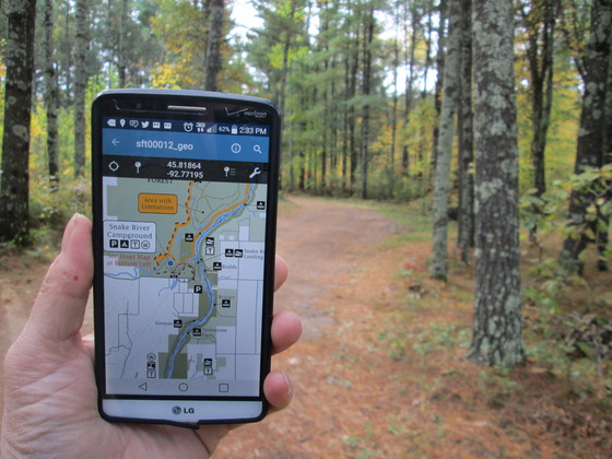 forest map app