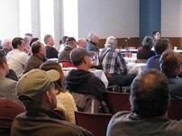 Public meeting audience