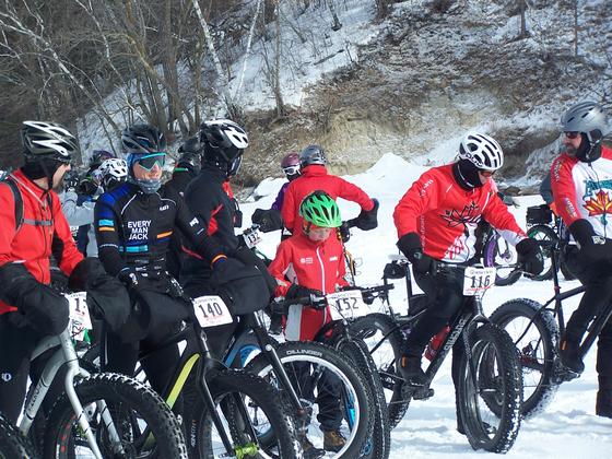 Lake Bemidji Fat Tire bike race