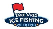 take a kid ice fishing logo