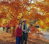 park ranger with wife