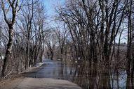flooded trail