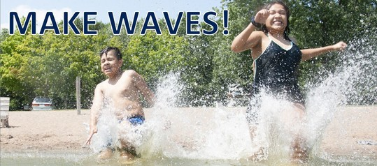 Make Waves banner