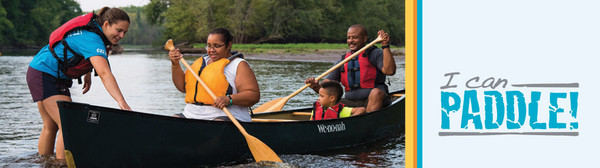 I Can Paddle! Canoe program on St. Croix River