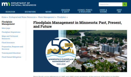 Floodplain Past, Present and Future page image