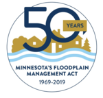 Floodplain 50th anniversary logo