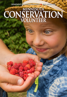 MCV cover featuring a girl excited about picking berries