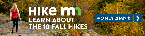 Hike MN Fall Hikes Banner Ad