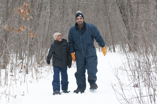Snowshoeing Nerstrand 2