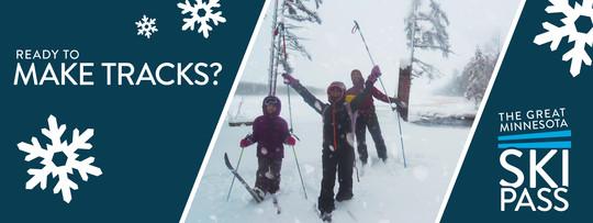 Make tracks and get your ski pass