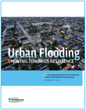 Cover of Urban Flooding report