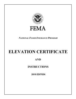 12/2019 Elevation Certificate cover