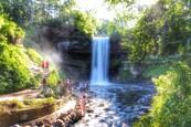 Minnehaha falls by Ryan Jordan