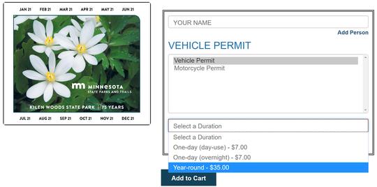 Online permit purchasing