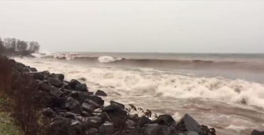 Storm on Brighton Beach - Lake Superior