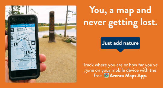 Track where you are with Avenza maps app