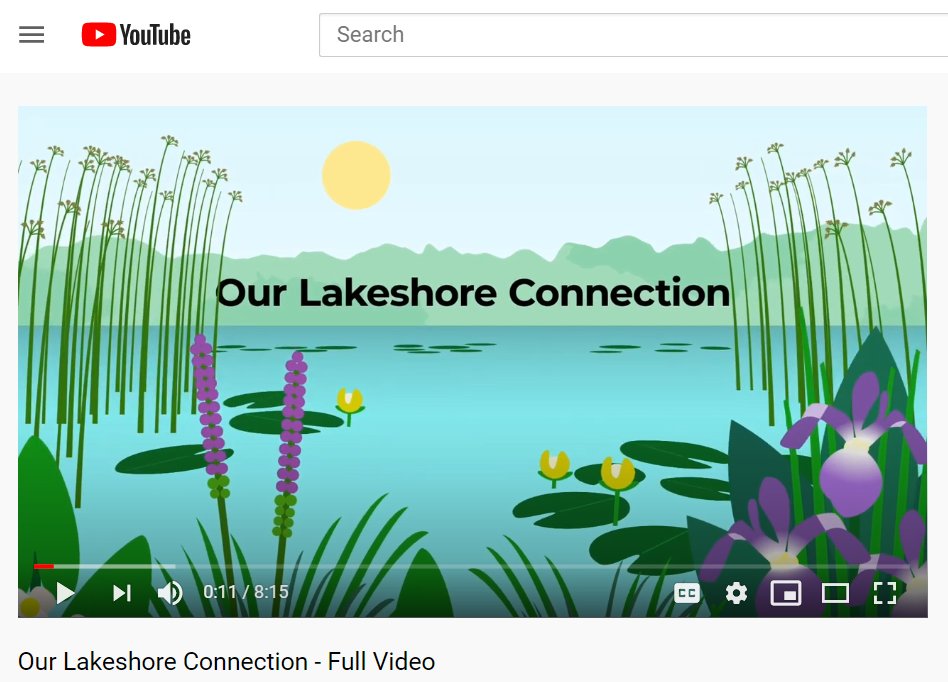 """Clip of """"Our Lakeshore Connections"""" video"""