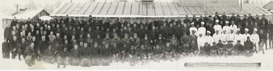 African American CCC Company 1728, Camp Temperance F-19, Tofte, 1934