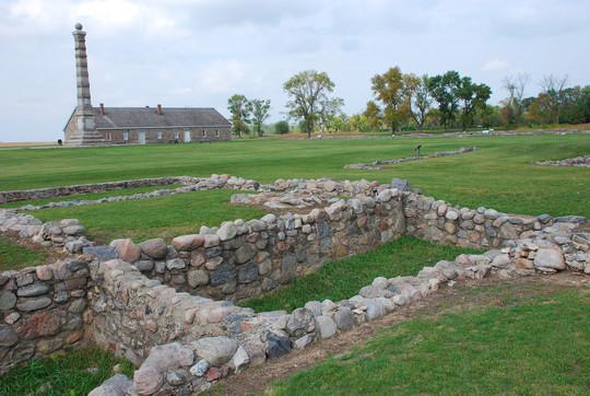 Fort Ridgely ruins