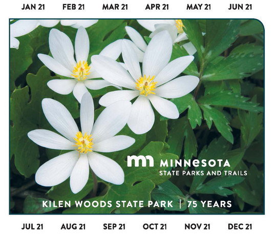2020 year-round vehicle permit for Minnesota state parks and recreation areas