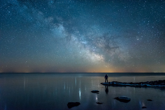 Stars from Temperance River State Park