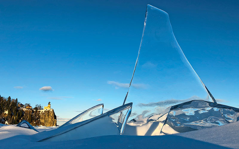 Ice formation on Lake Superior