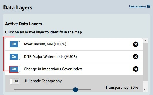 Use Add Data panel to reorder data layers
