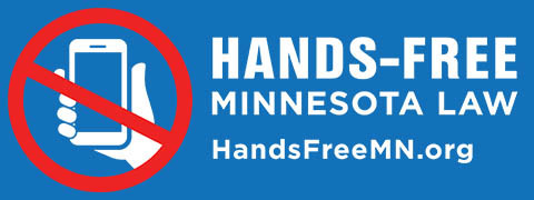 Hands-free Minnesota Law graphic