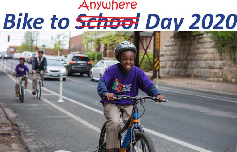 Bike to Anywhere Day 2020
