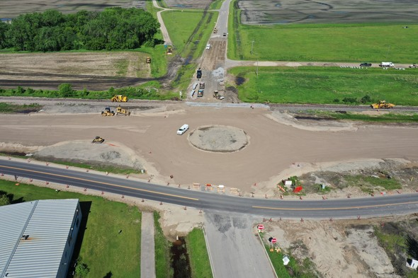 Hwy 32 roundabout