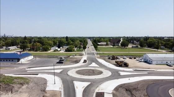 Brooks roundabout