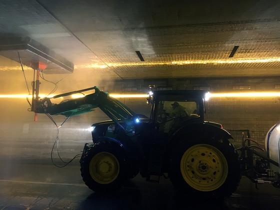 MnDOT Metro District Tunnel Washer