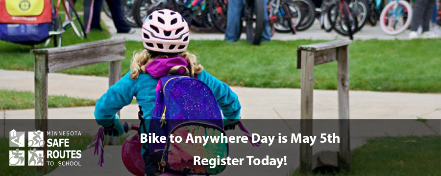 Bike to Anywhere Day is May 5th