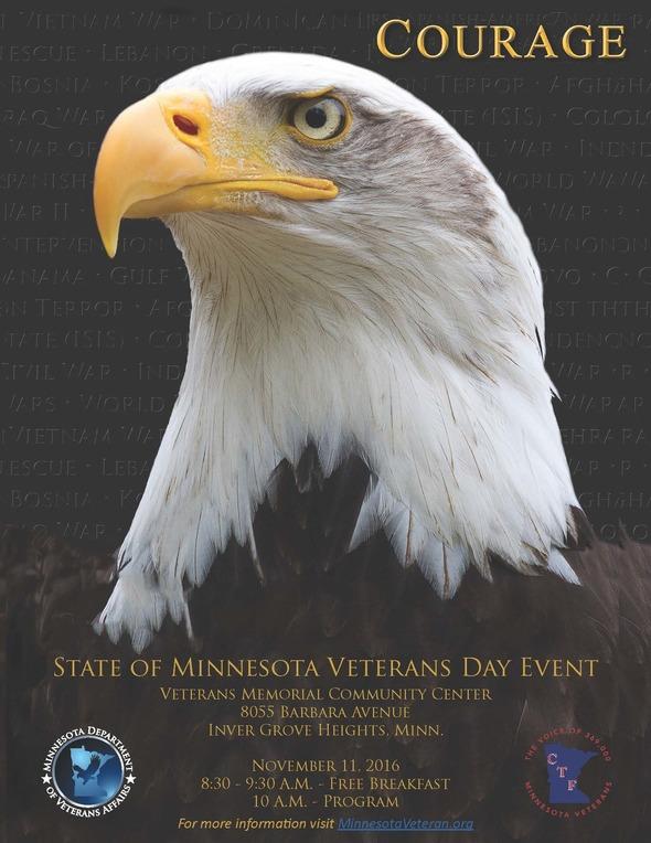 Veterans Day Event Flyer