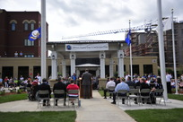 Minneapolis Veterans Home flag ceremony