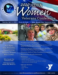 Women Veterans Conference Flyer