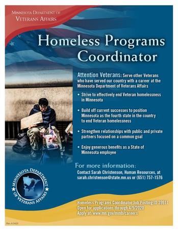 Homeless Programs Coordinator