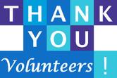 thanks volunteers